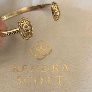 Kendra Scott Elton Bracelet Gold Filigree